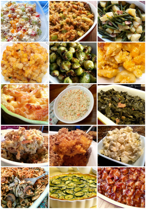 15 Thanksgiving Side Dish recipes that are LIFE