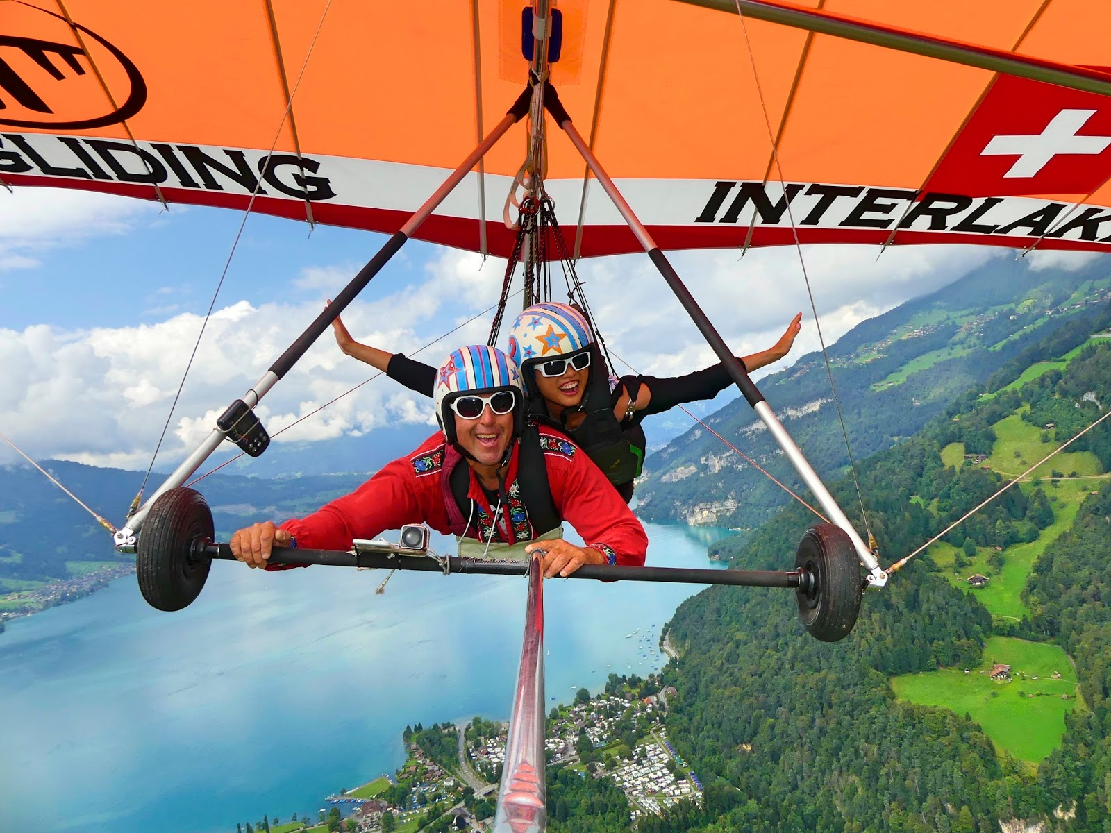 And Hang Gliding In Interlaken With Bernie The Birdman From Hangglidinginterlaken Is Truly Coolest Thing Ive Done Up To Date