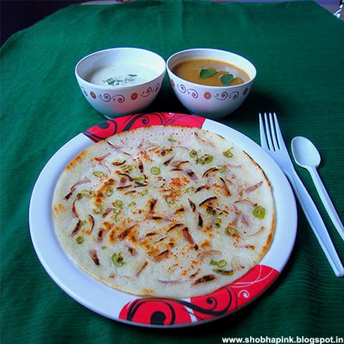 Onion Uttapa