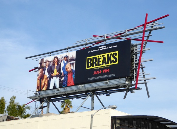 Breaks VH1 movie billboard