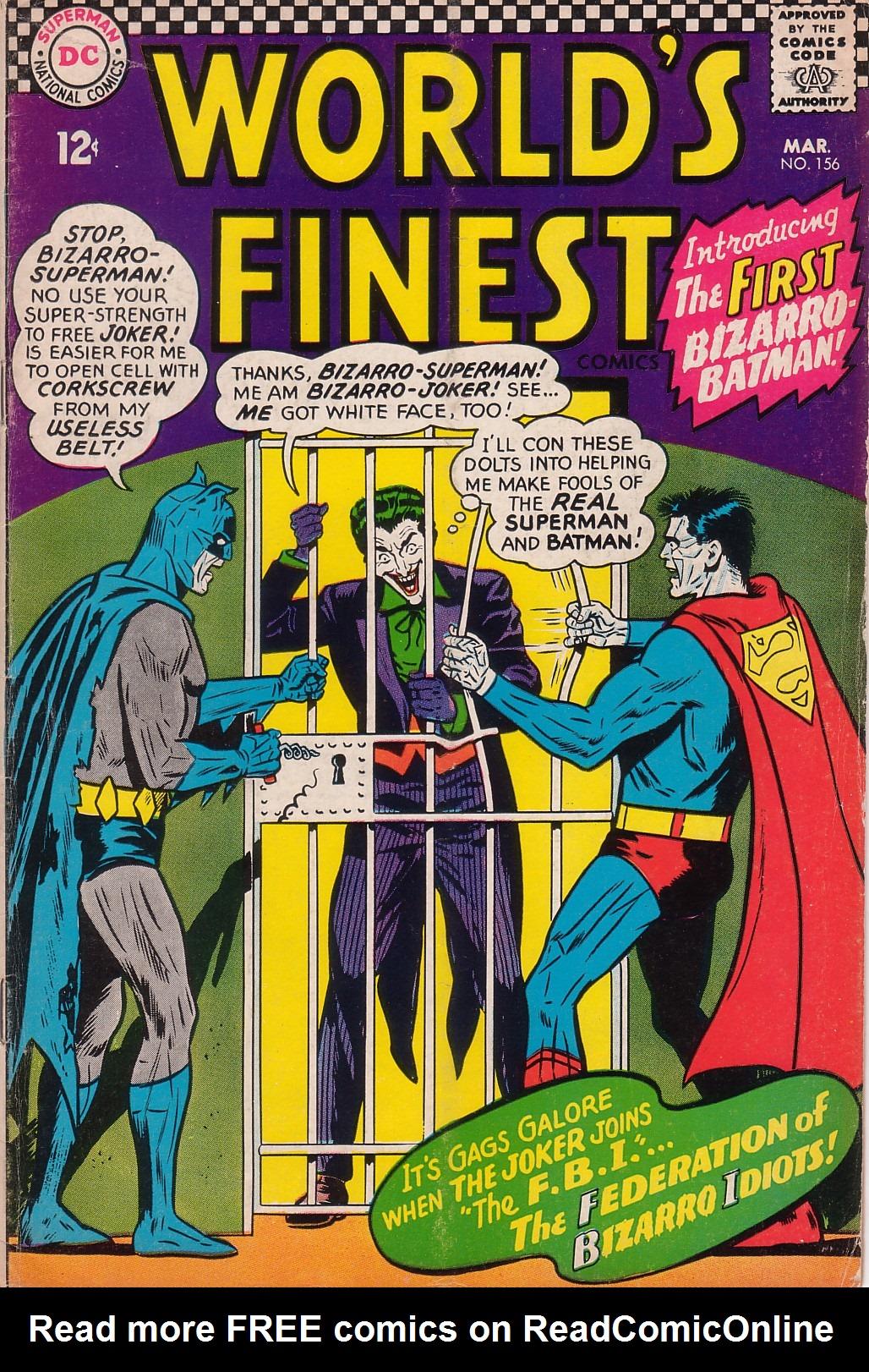 Read online World's Finest Comics comic -  Issue #156 - 1