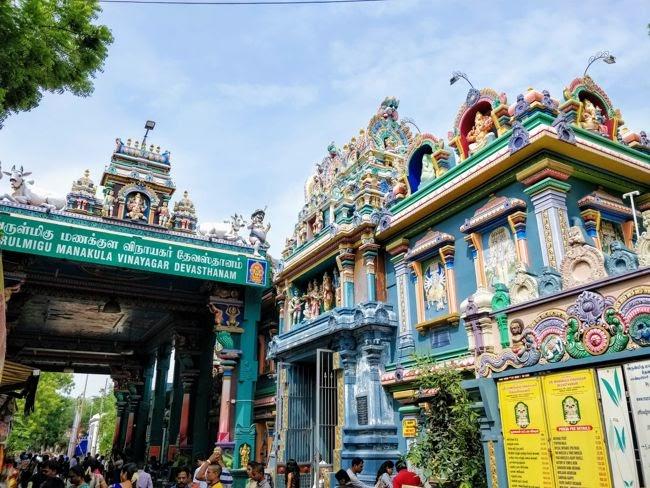 Manakula Vinayagar Temple