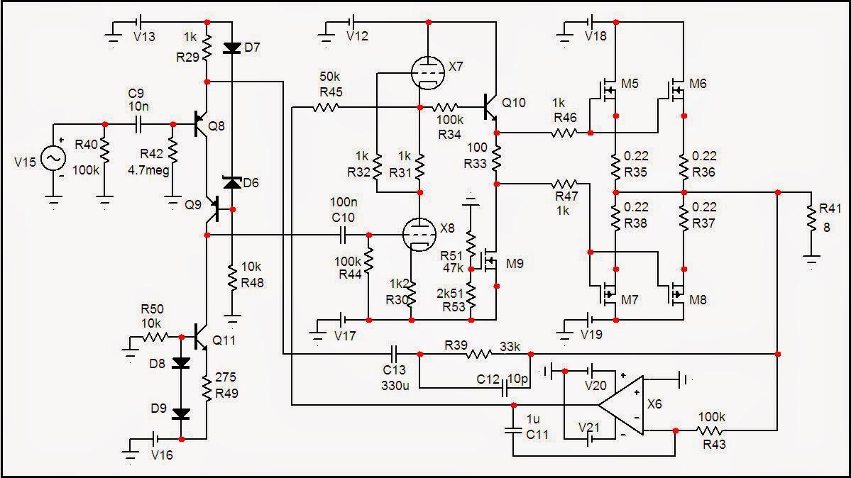 ESPRITAUDIO: Luxman LV-105 Style Hybrid Amplifier 100W