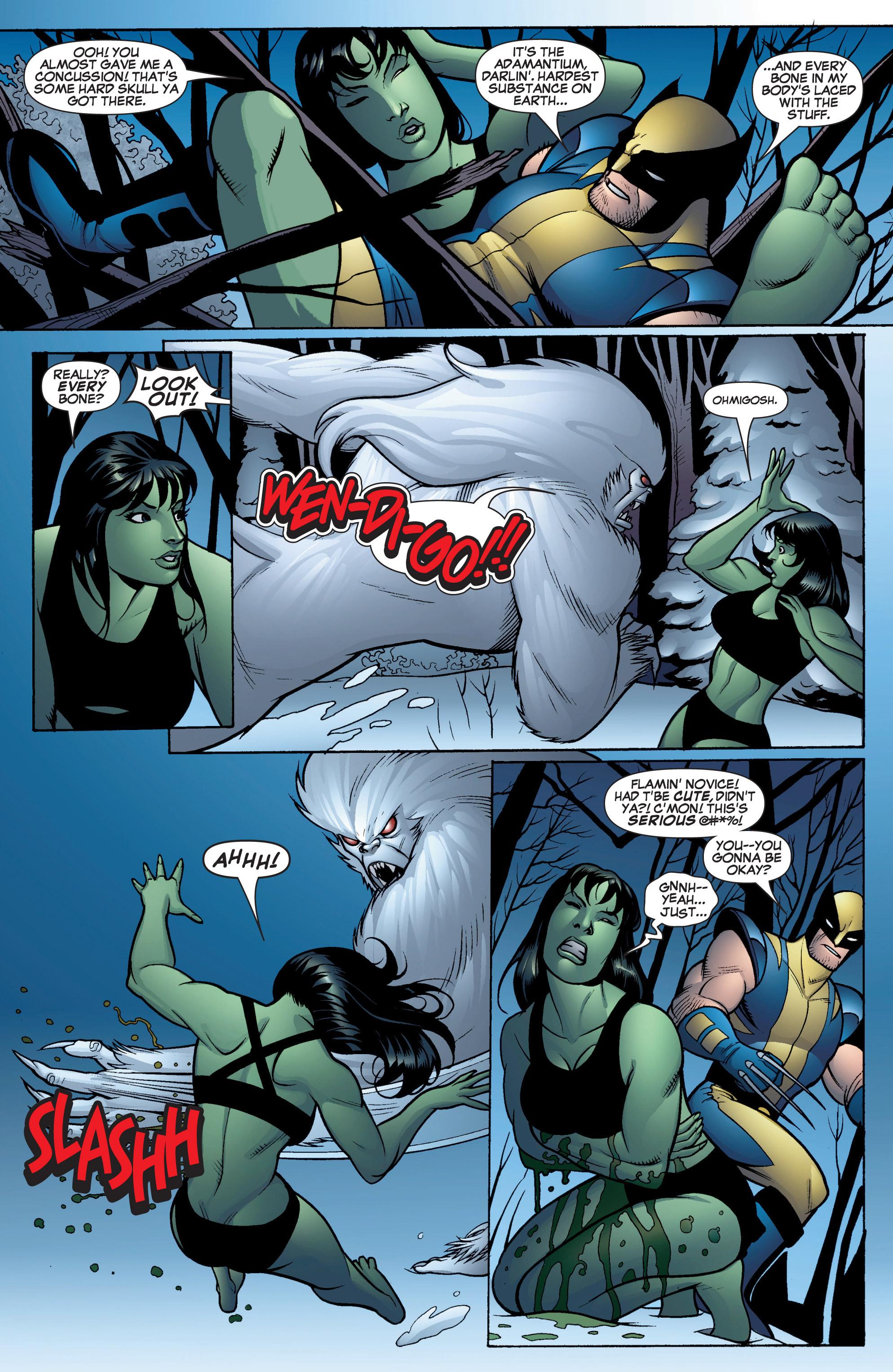 Read online She-Hulk (2005) comic -  Issue #16 - 9