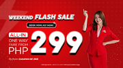299php Airasia Airfare Flash Sale