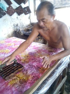 quilt Sandwich traditional Indonesian Batik