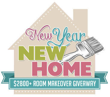 Simply link party for New home giveaway