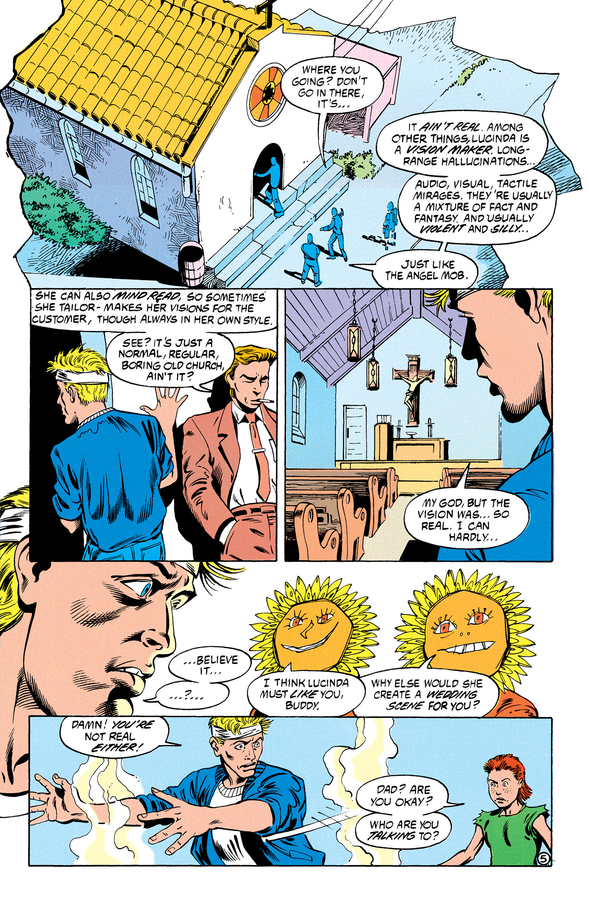 Read online Animal Man (1988) comic -  Issue #30 - 6