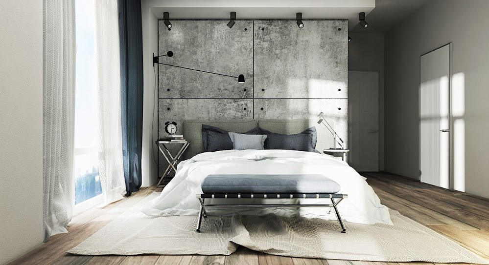 feature-concrete-wall-industrial-bedroom