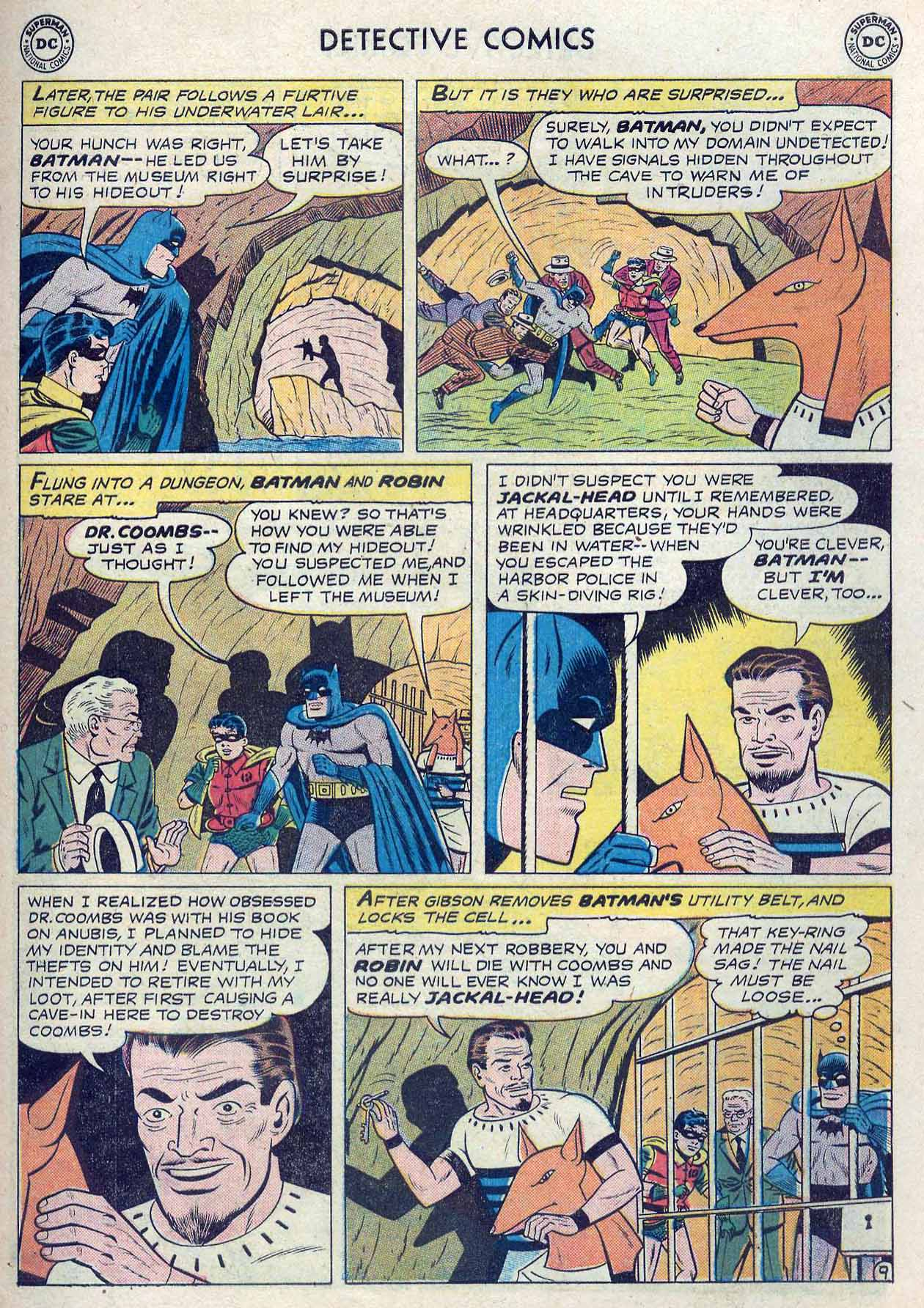 Read online Detective Comics (1937) comic -  Issue #262 - 11