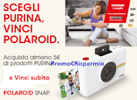 Logo Con Purina da Coop Alleanza 3.0 vinci Polaroid SNAP