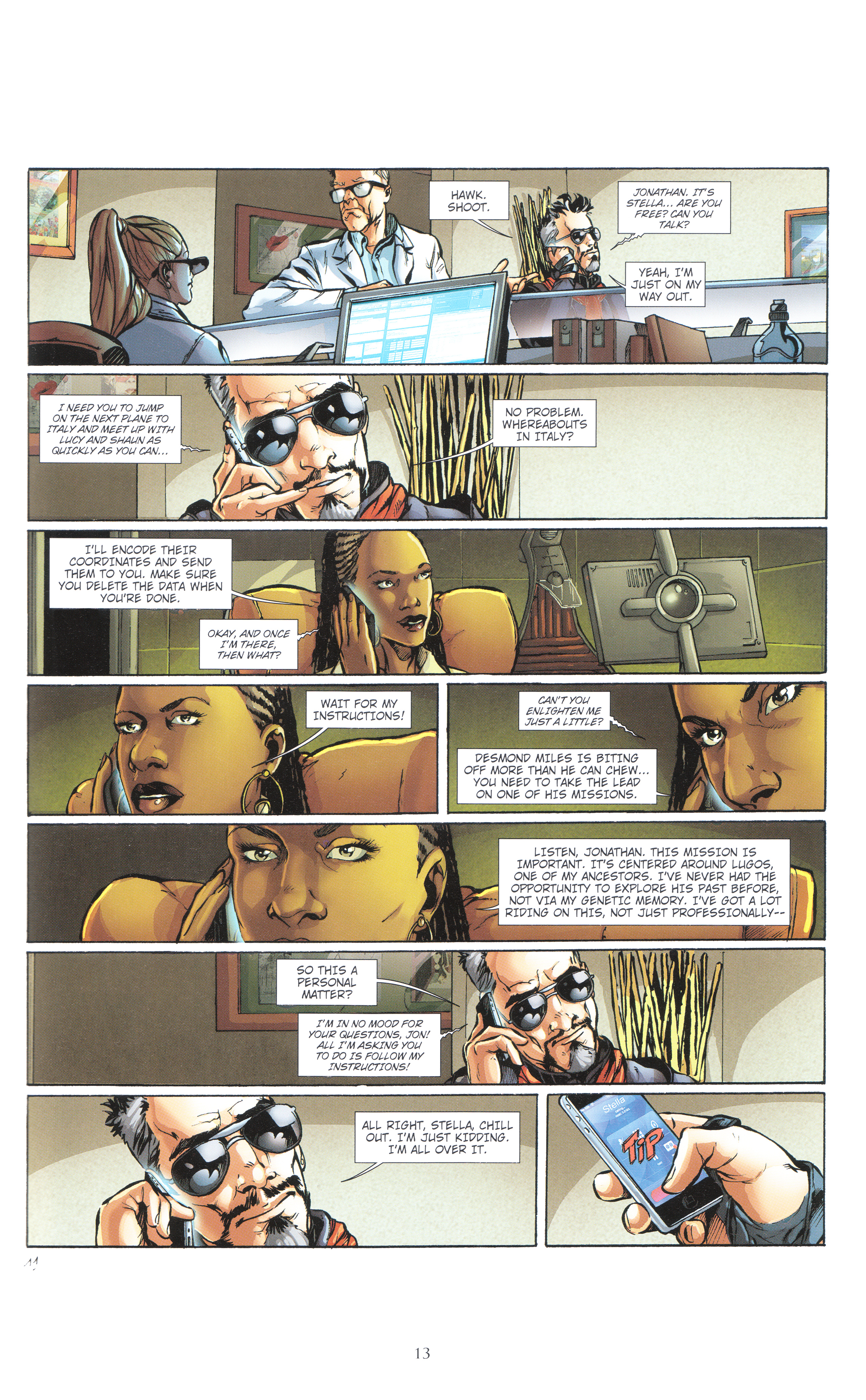 Read online Assassin's Creed (2012) comic -  Issue #4 - 13