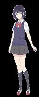ยาสุราโอกะ ฮานาบิ (Yasuraoka Hanabi) @ Scum's Wish: Kuzu no Honkai