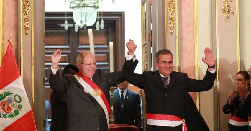 Mininter vicente romero fern ndez jurament como nuevo for Nuevo ministro del interior peru