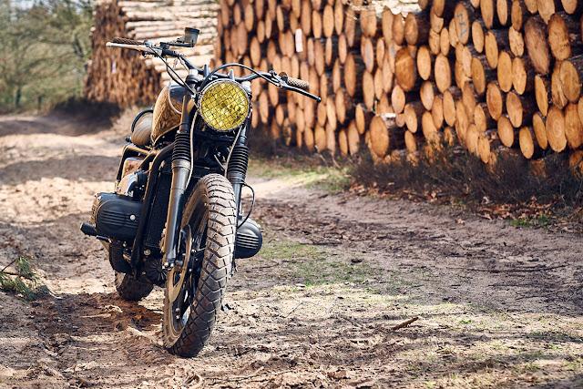 Honda GL1000 By RH Motorcycles Hell Kustom
