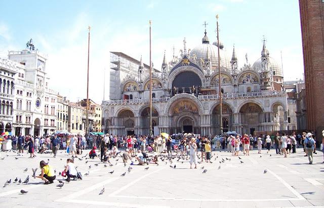 Sobre a Basílica de São Marcos em Veneza