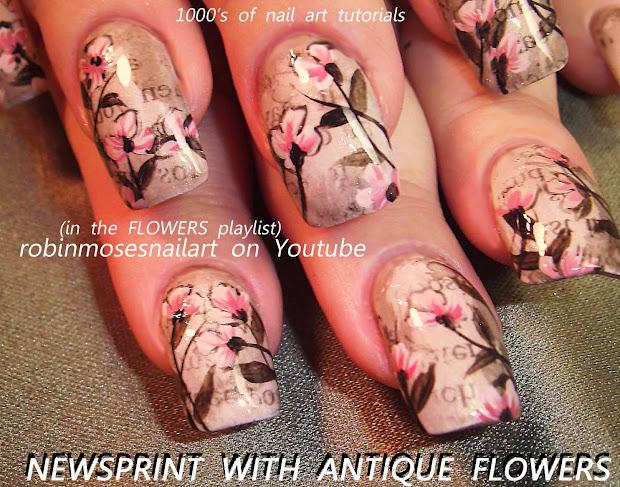 """Nail Art Robin Moses """"geisha Art"""" Nails"""" Flowers"""