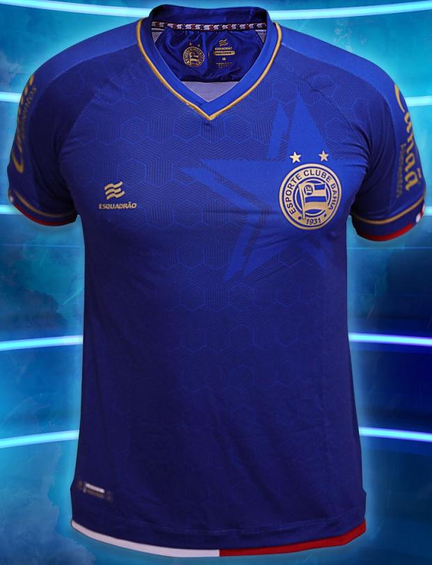8761e4de5e Esquadrão lança a nova terceira camisa do Bahia - Show de Camisas