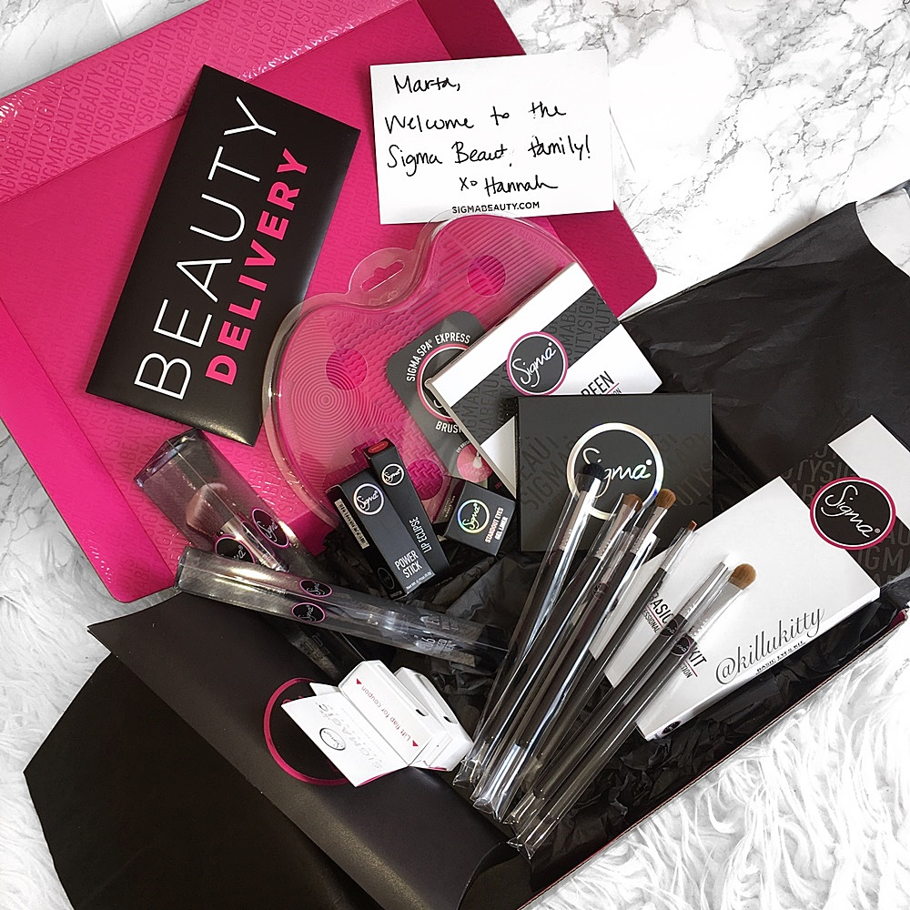 Beauty Delivery: Sigma Beauty