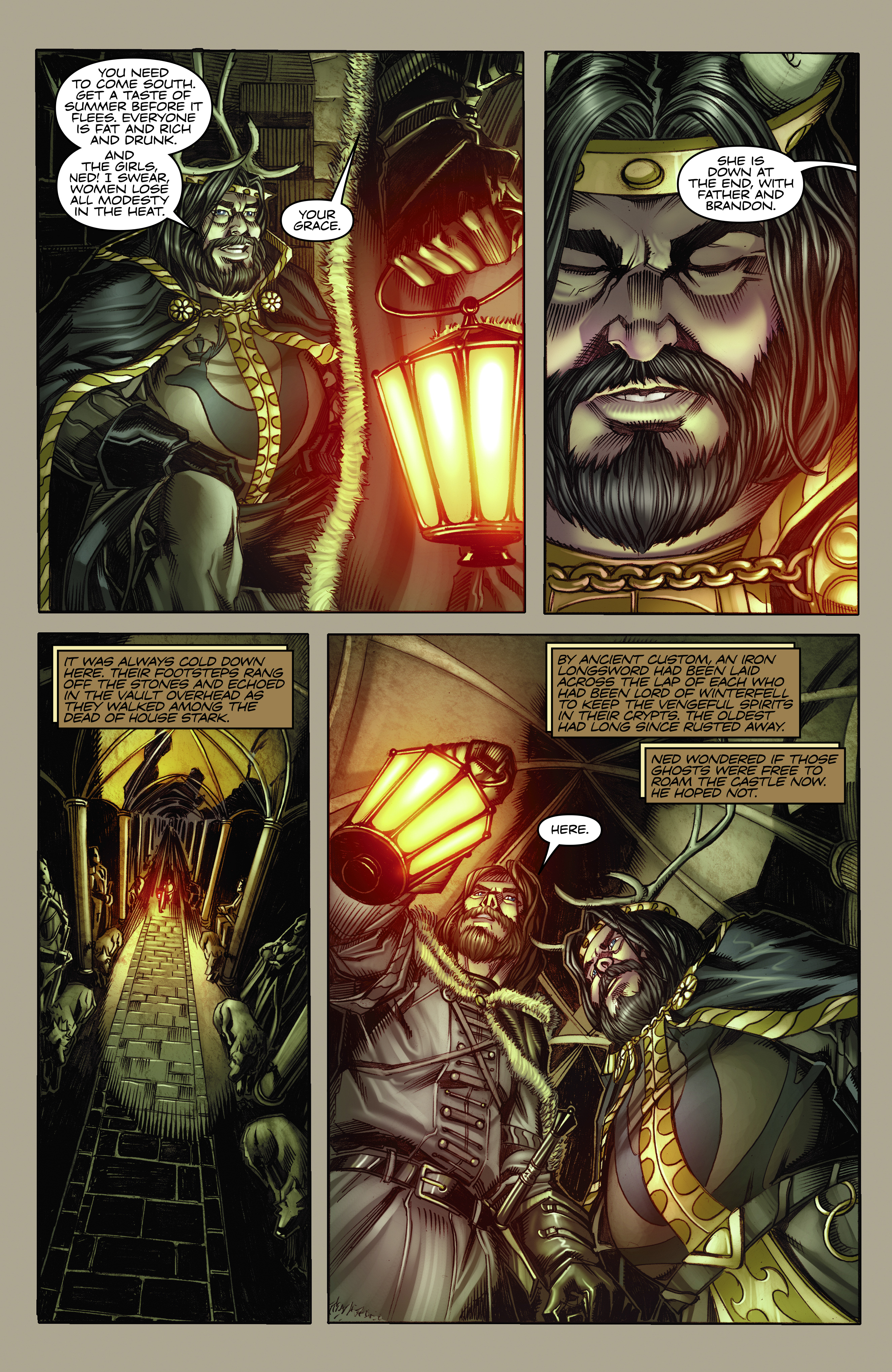 Read online A Game Of Thrones comic -  Issue #2 - 6