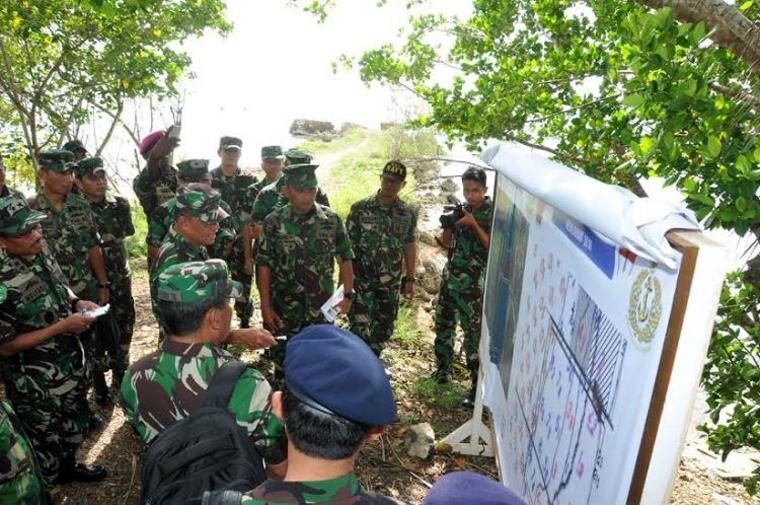 TNI di Morotai