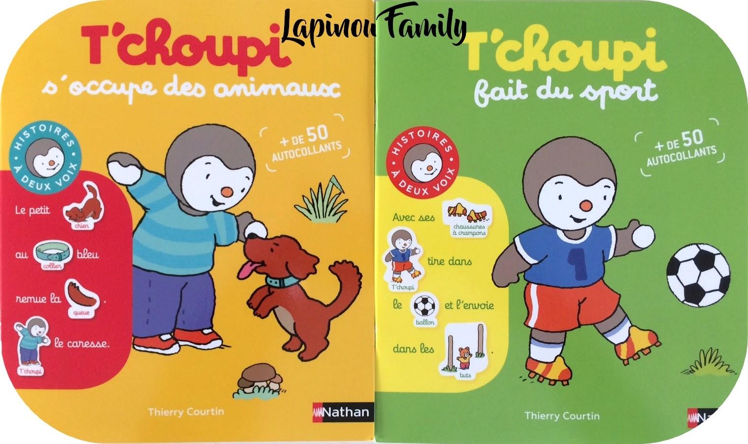 T Choupi Le Héros Des Petits 3 Lapinou Family