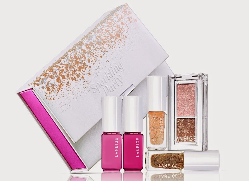 Laneige Sparkling Party Makeup Palette, The Season To Be Sparkly, Laneige, Laneige Skincare, Laneige Makeup, Laneige Holiday Sets, Laneige Christmas Sets, Laneige Malaysia