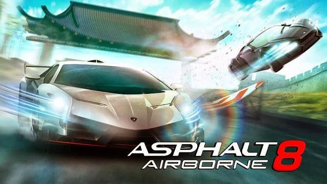 تحميل لعبة Asphalt 8 Airborne v2.6.0m مهكرة للاندرويد