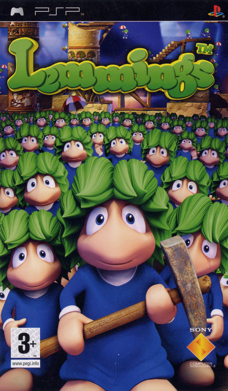 Lemmings - PSP - ISO Download