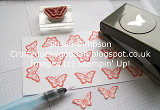 Stampin' Up! Susan Simpson Independent Stampin' Up! Demonstrator, Craftyduckydoodah!, You're So Lovely, Papillon Potpourri, Petite Petals, On Stage Telford 2016,