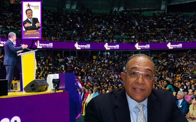 Amigos de Leonel dice hay fiesta nacional por lanzamiento de candidatura