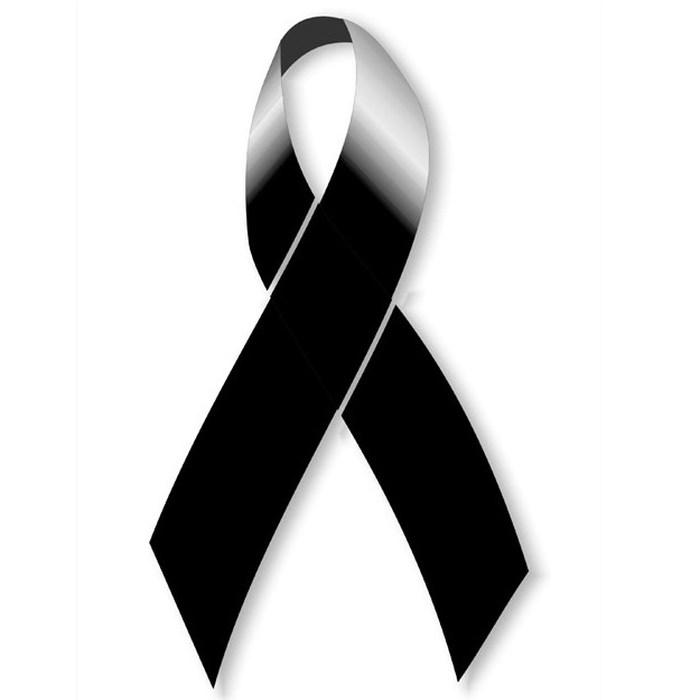 Imágenes de Luto y Duelo para dar pésame y condolencias perfil. Lazos, moños, listones, insignia, señal, símbolo, signo, logo, cintillo, cinta grande, fondos negros.