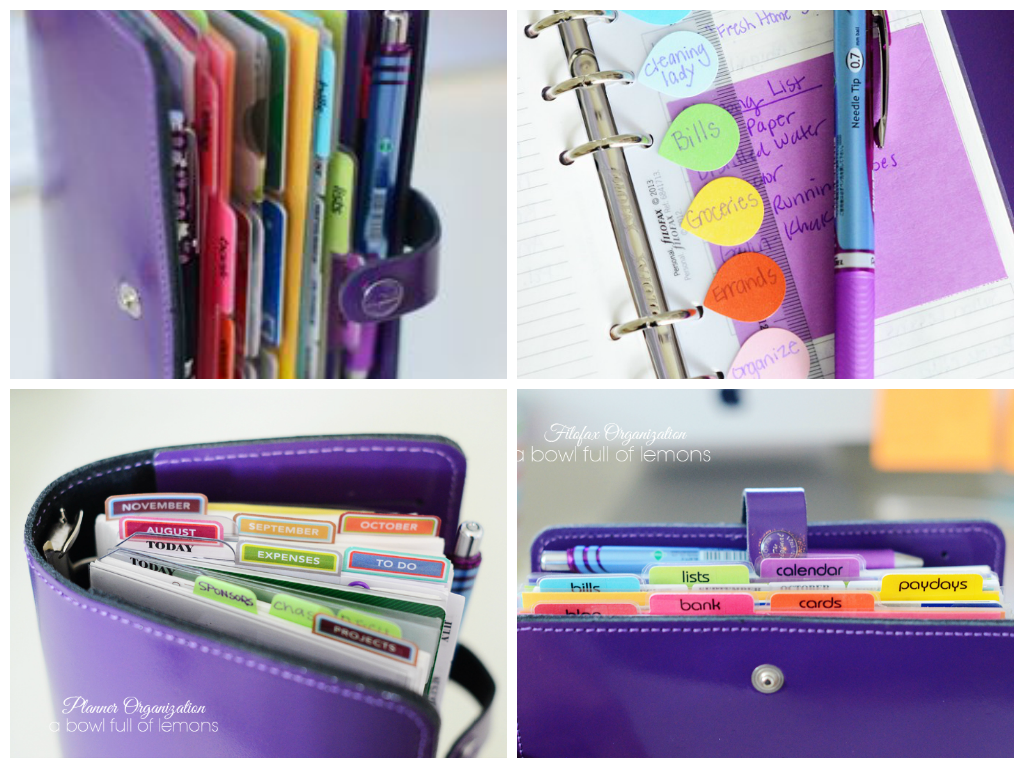 Label Me Organized Fav Five Planners And Organizers