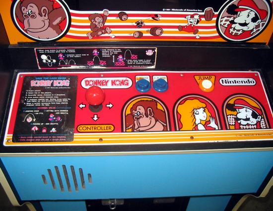 Donkey Kong controls