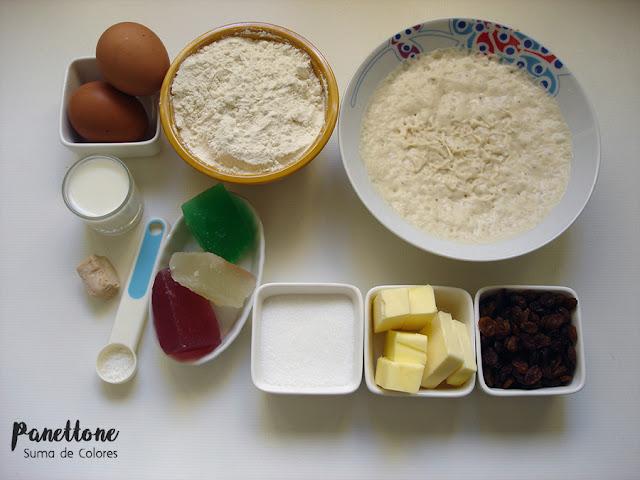 Panettone-Ingredientes