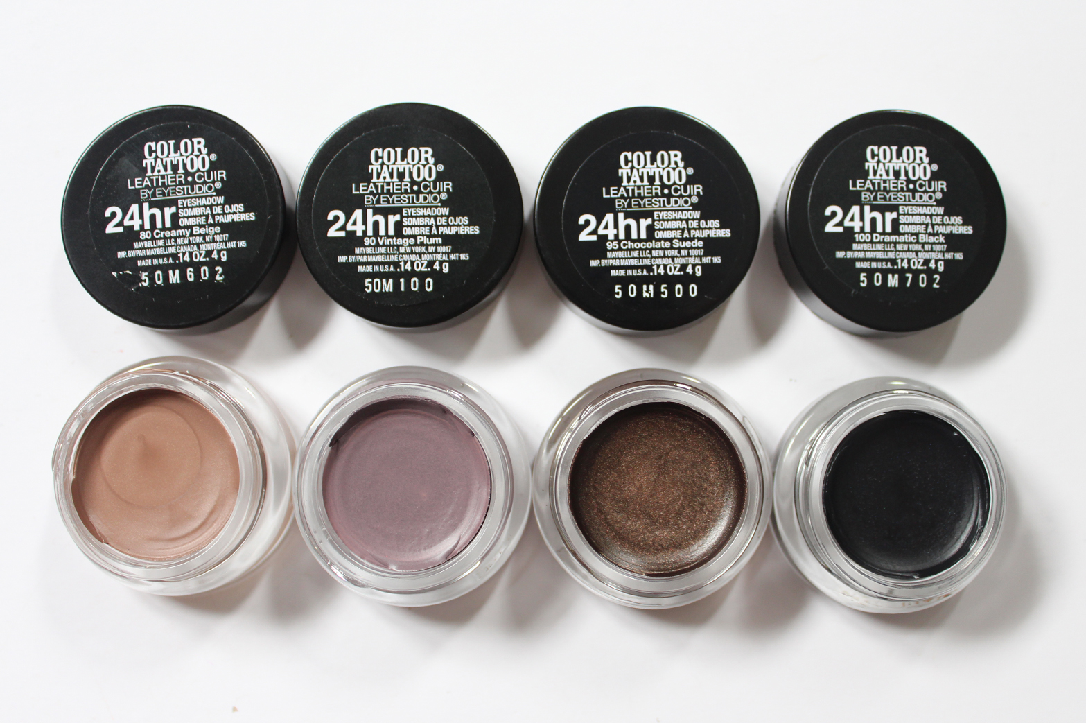 MAYBELLINE | Color Tattoo 24hr Eyeshadow Leather - Review + Swatches - CassandraMyee
