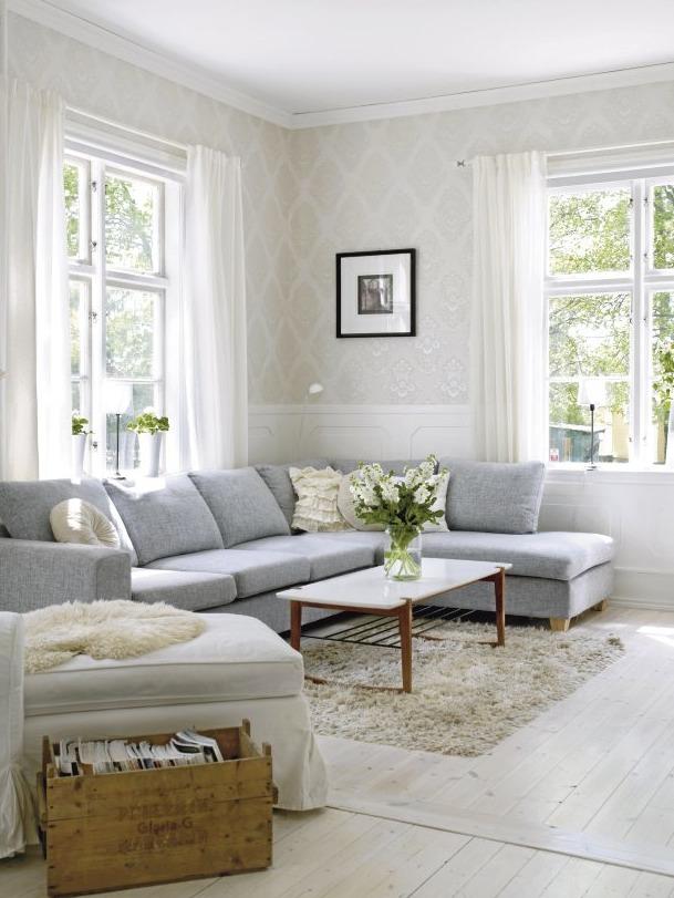 Pinterest Decoration Gris Et Blanc
