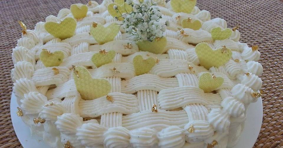 Torta delizia alla crema e amarene i dolci di pinella for Decorazione a canestro