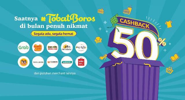 #OVO - #Promo #TobatBoros Di Bulan Penuh Nikmat Ramadhan 2019 (s.d 05 Juni 2019)