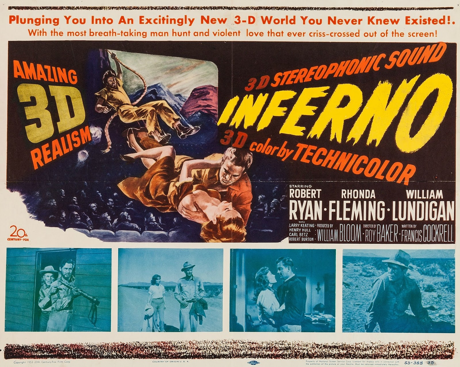 Titans Terrors and ToysA Review of Inferno (1953), Film Noir in the