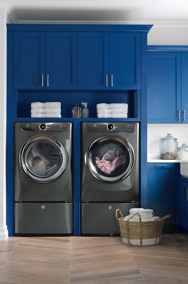 Electrolux Laundry Room Reveal  Hunted Interior  Bloglovin