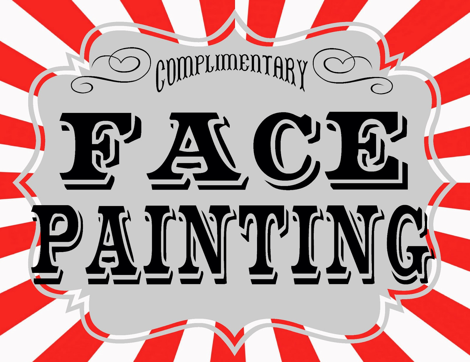 hight resolution of face painting clipart