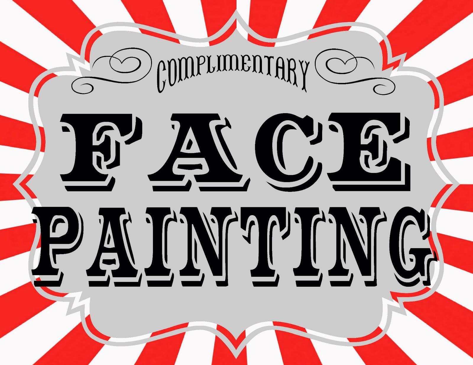 face painting clipart [ 1600 x 1235 Pixel ]