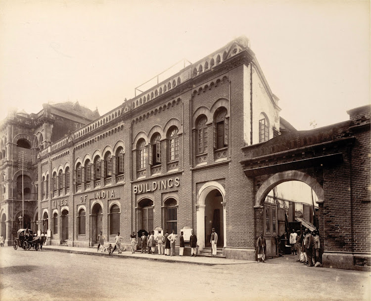 Times of India Building corner of Elphinstone Circle