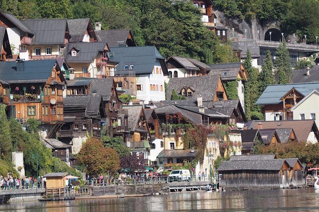 houses in Hallstatt