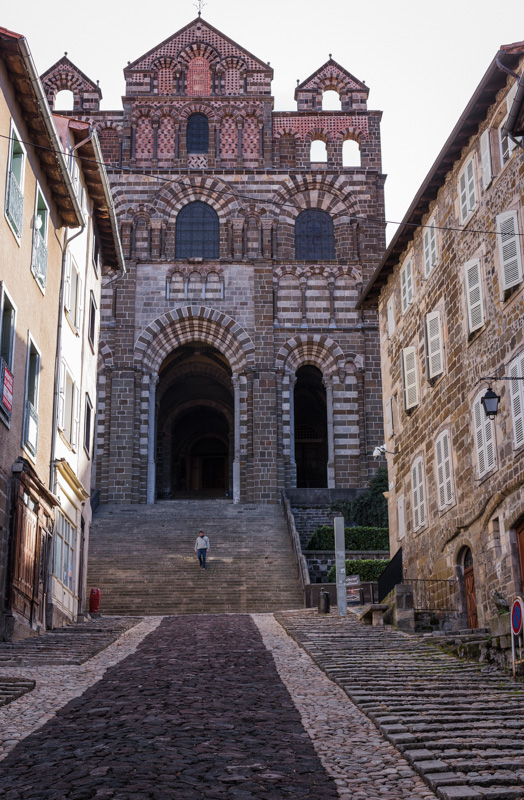 Up to the cathedral