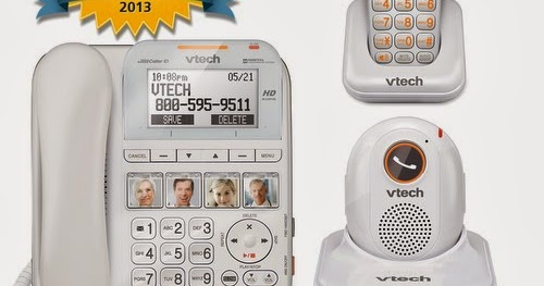 how to listen to voicemail on vtech home phone