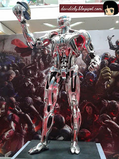 Exhibit | Life-Size Statues of Marvel's Avengers: Age of Ultron at SM City North EDSA - Ultron