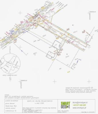 Mapka do celów projektowych