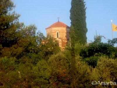 Nauplie, Nafplio, Monastère Agnountos Argolide Peloponnèse Grèce